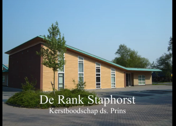 De Rank kerstboodschap
